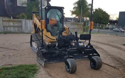 New CAT laser box grader tool